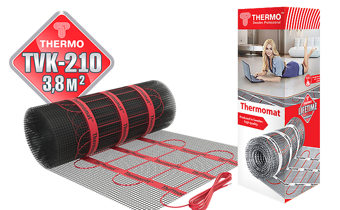 Thermomat TVK 210 3,8 м.кв