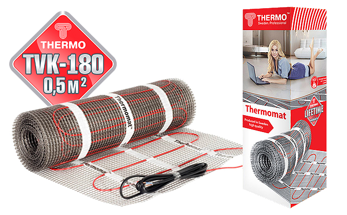 Thermomat TVK 180 0,5 м.кв.