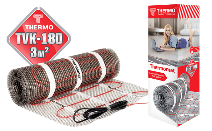 Thermomat TVK 180 3 м²